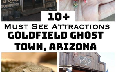 10+ Must Visit Attractions at Goldfield Ghost Town