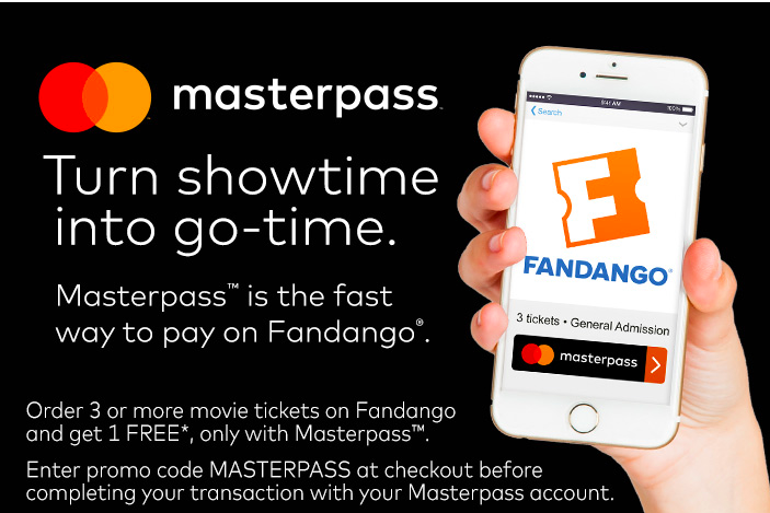 Fandango: B2G1 FREE Movie Tickets