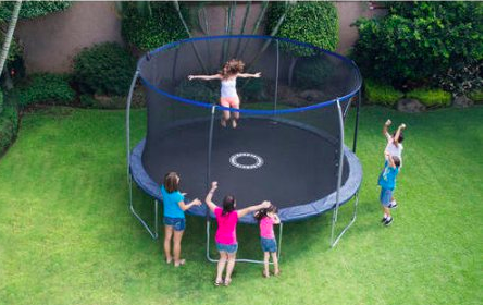 BouncePro 14′ Trampoline with Proflex Enclosure $189 Shipped