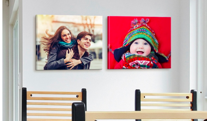 16×20 Custom Photo Canvas as low as $18.50 + Free Shipping