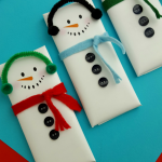 Snowman Candy Bar Wrapper Printable