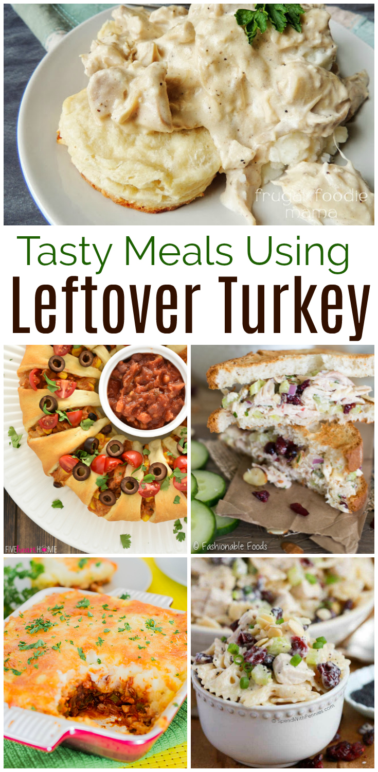 Lots of leftover turkey this Thanksgiving? Here are 15 tasty meals yet simple, family friendly meals using leftover turkey.