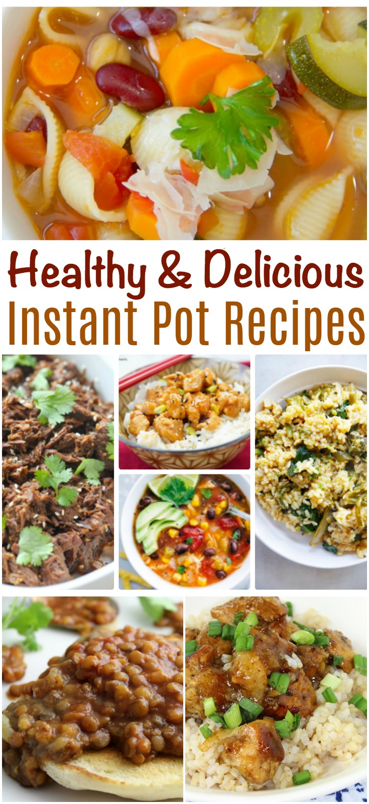An Instant Pot can be a lifesaver in the kitchen! Here are some healthy and delicious Instant Pot Recipes you will want to incorporate into your household!