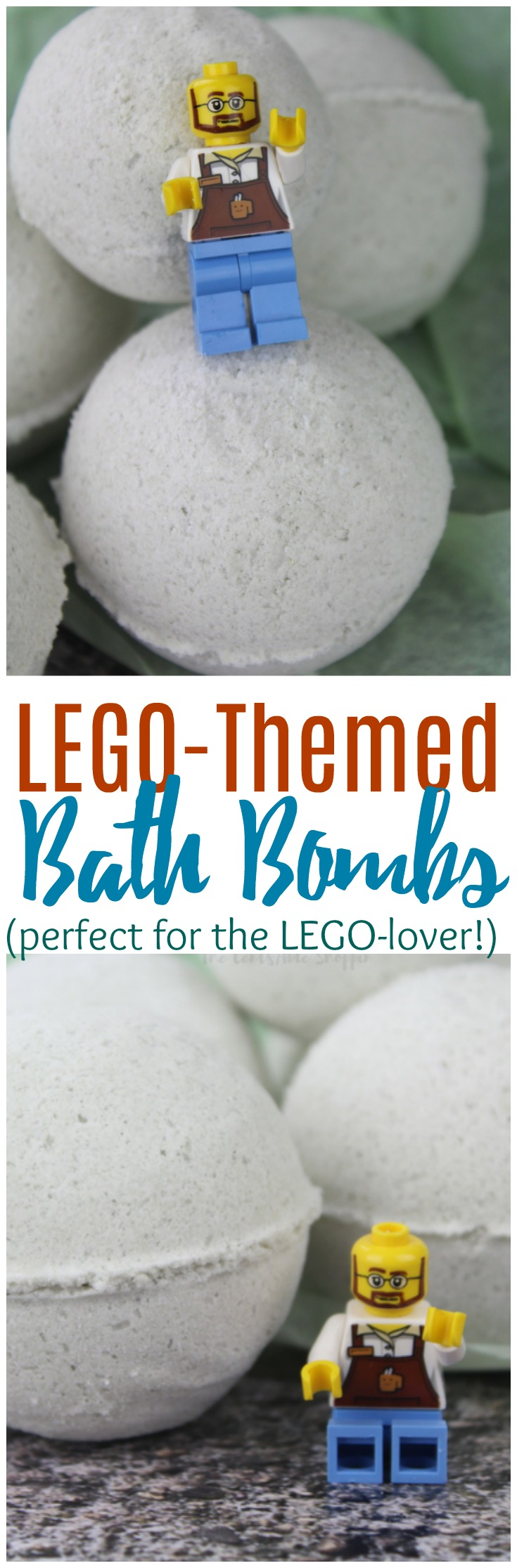 These DIY LEGO Bath Bombs are fun and simple to make. These bath bombs will knock your kids socks off when they see what's inside!