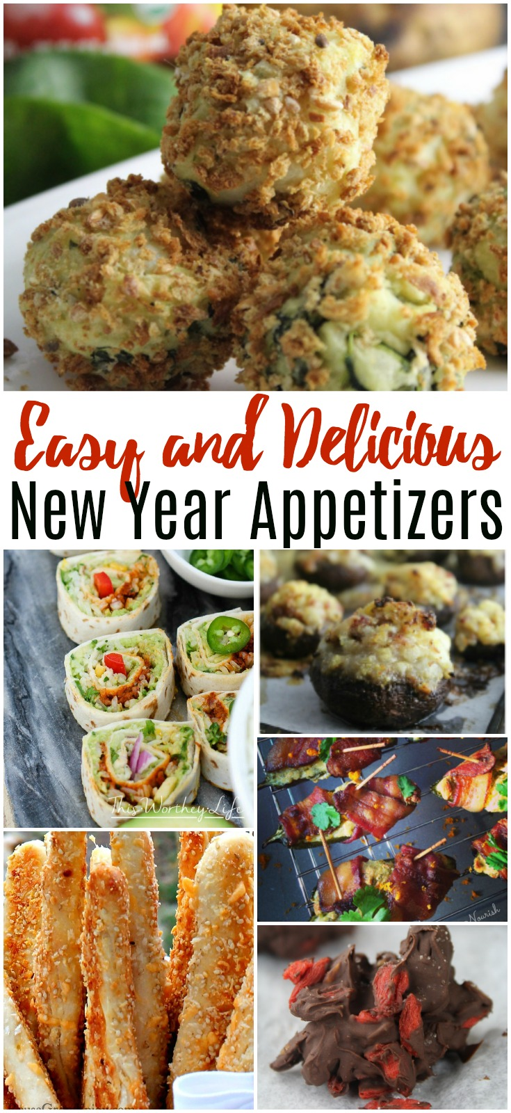 Easy and Delicious New Year's Appetizers