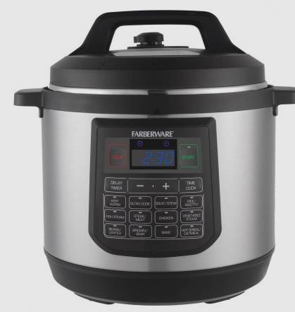 Faberware 8qt Electric Pressure Cooker $59.99