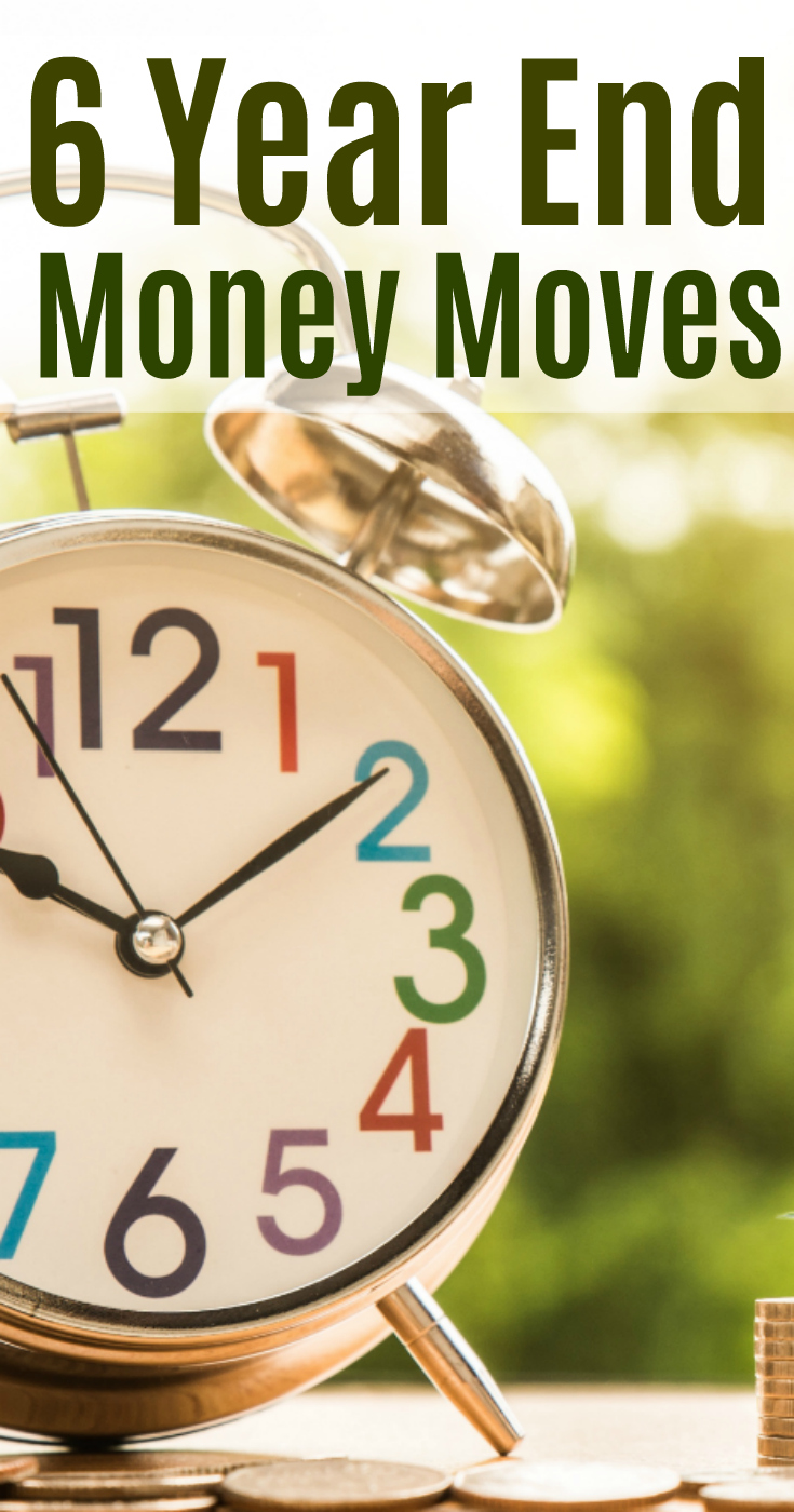 There is no better time than the present to review your finances and take advantage of these six money moves before the New Year.  #finances #budget #money #investing