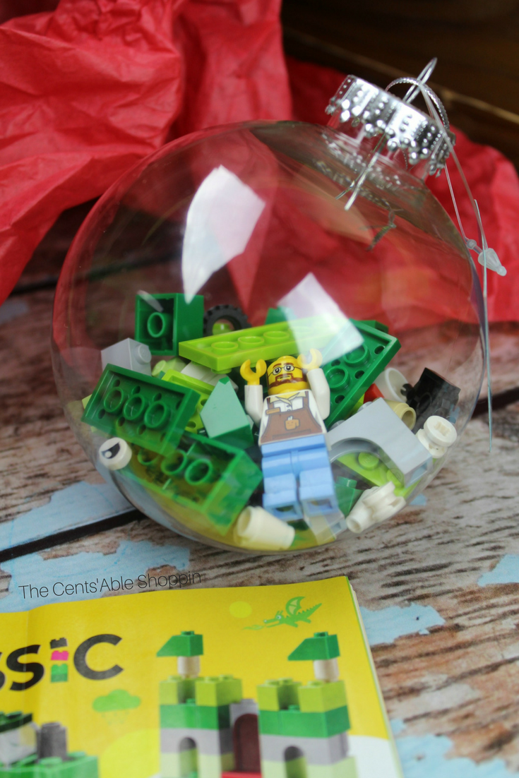 DIY LEGO Holiday Ornament
