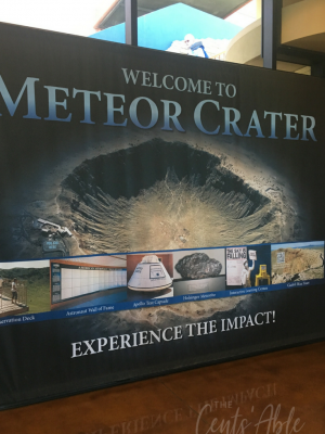 Visiting the Arizona Meteor Crater