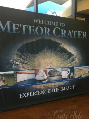 Visiting the Arizona Meteor Crater