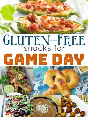 Gluten Free Snacks for Game Day