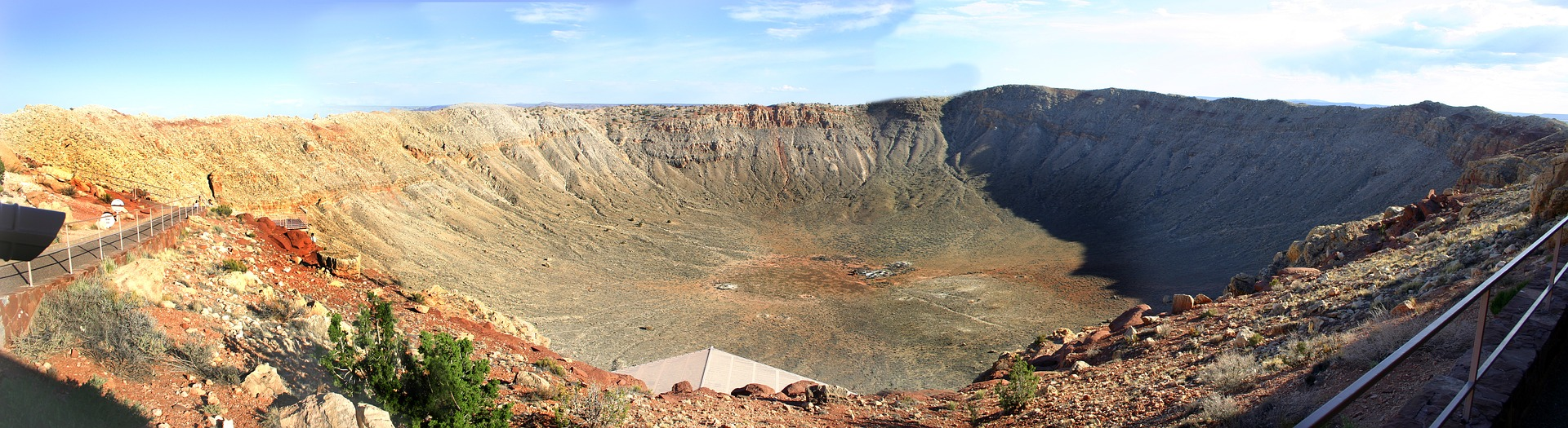 The Arizona Meteor Crater is the world's best preserved meteorite impact site on Earth, located off I-40 and Route 66 in Northern Arizona near Winslow.