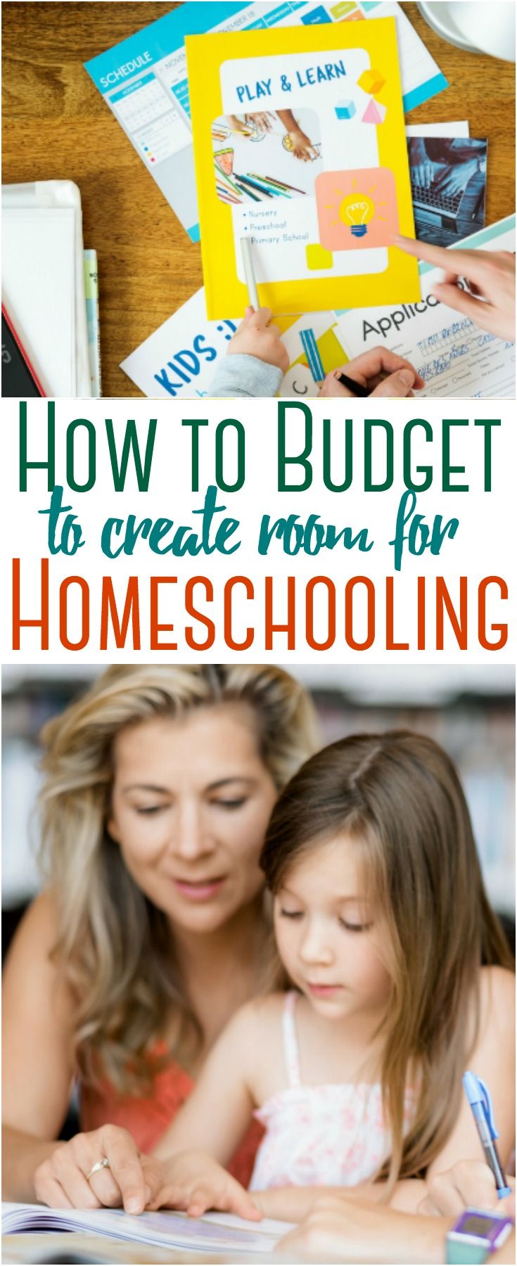 Homeschooling can get quite costly ~ thankfully there are ways to save to make it possible. Here are some tips to budget in order to make homeschooling a reality for your family.  #homeschool #budget #finance #money #savingmoney