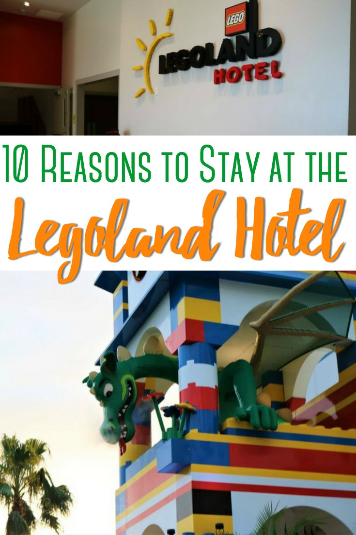 The top ten reasons to stay at the LEGOLAND Hotel with your family, and experience the ultimate LEGO experience that'll keep you going back!