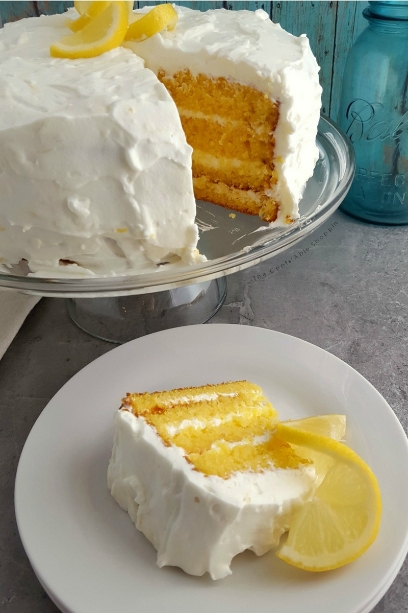 This light and fluffy Lemon Dream Cake is the perfect gluten-free dessert to welcome spring and is the perfect way to celebrate a birthday!
