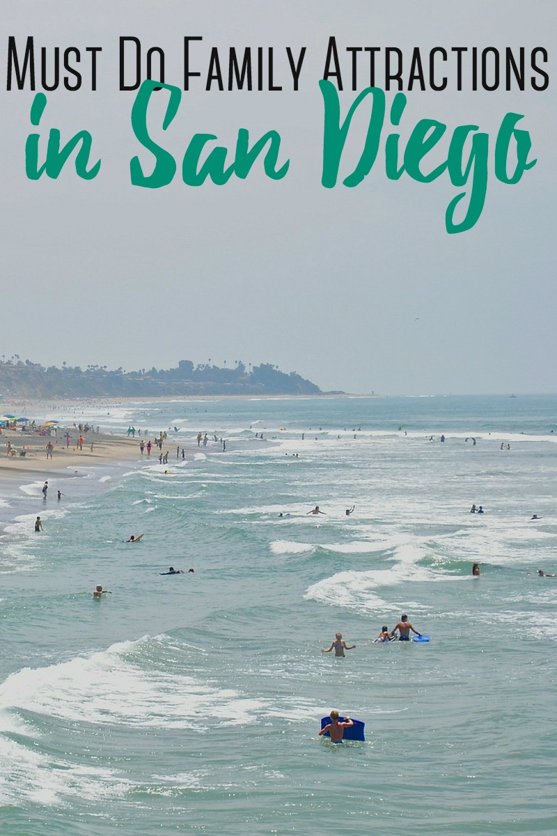 There are so many things to do in San Diego!  Here are the BEST family-friendly attractions to visit in San Diego.  #sandiego #roadtrip #family #beach #california