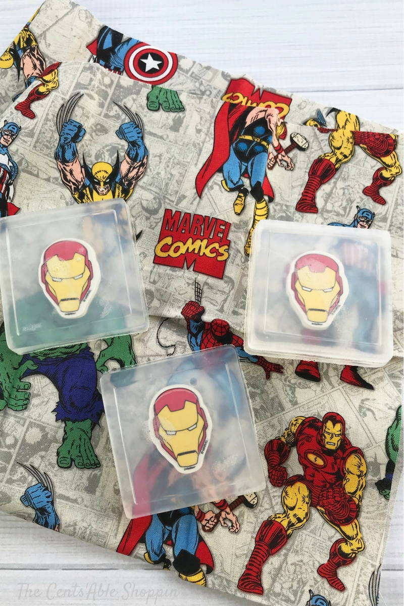 Iron Man Soaps for Kids