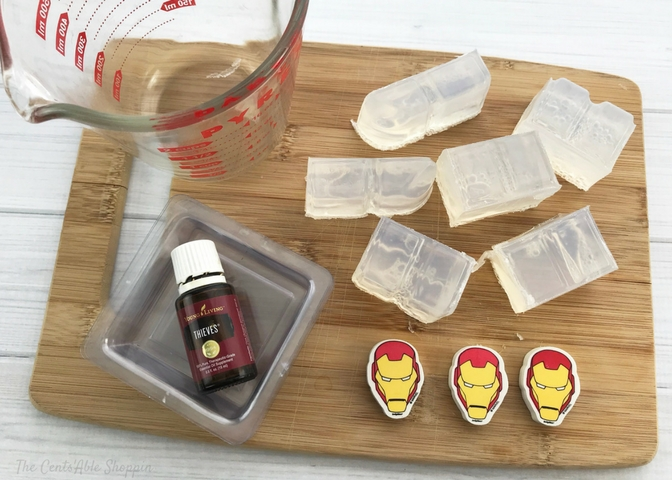 Iron Man Soaps for Kids - Getting Started
