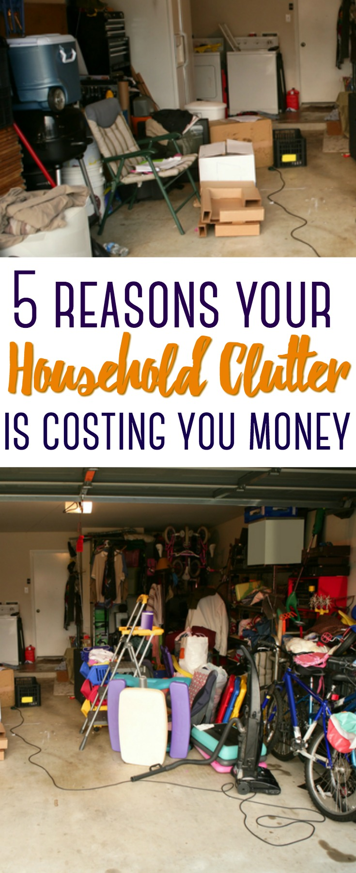 When you have kids and a family, household clutter can be inevitable and costly. Here are 5 reasons your household clutter is costing you money.