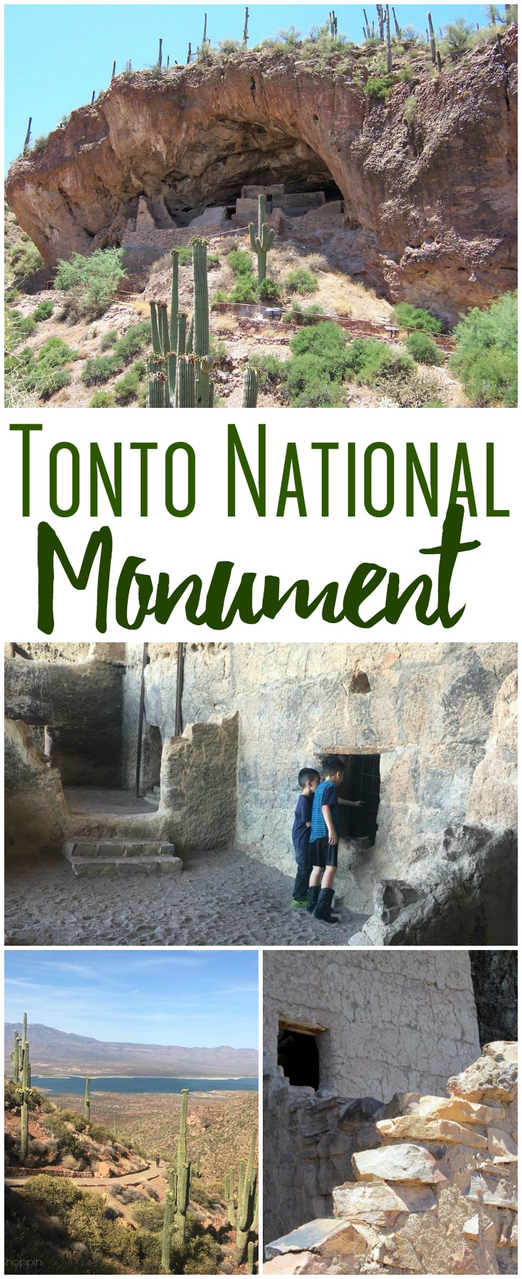 The Tonto National Monument is a National Monument in the Superstition Mountains, in the Gila County of central Arizona.