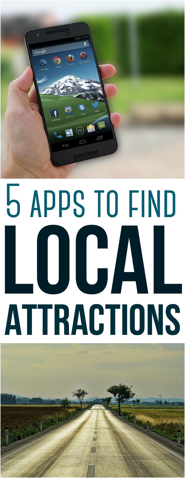 There are lots of cool traveling apps you can use to find awesome spots. Here are 5 apps to help you find local attractions!