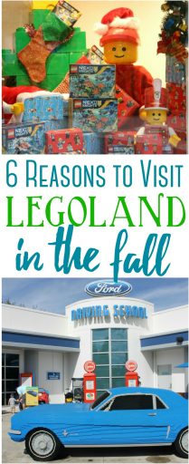 6 Reasons to Visit LEGOLAND in the Fall
