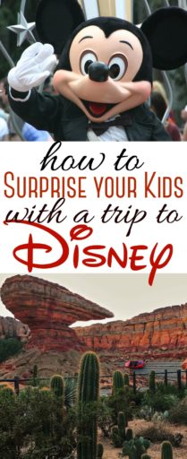 How to Surprise your Kids with a Trip to Disney