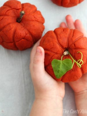 Homemade Pumpkin Play Dough (Sensory Play)