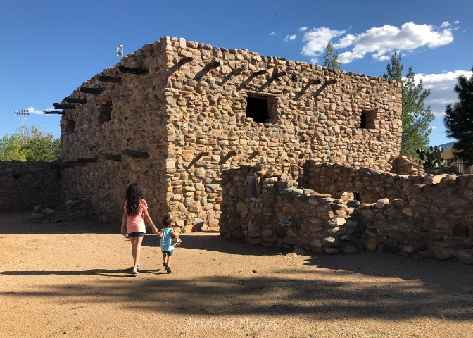 Ancient archaeological ruins from the Salado People in Globe, AZ || Besh Ba Gowah Archaeological Park and Museum is a prehistoric Salado masonry pueblo located one mile southwest of the city of Globe, Arizona.