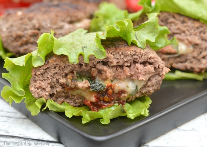 These simple and delicious Keto Caprese Stuffed Burgers are not only low carb, they are also rich in flavor and perfect for your next meal!