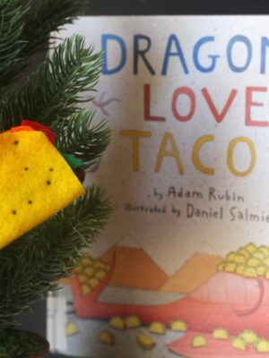 Dragons Love Tacos Christmas Ornament