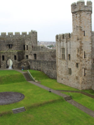 Touring Caernarfon Castle North Wales