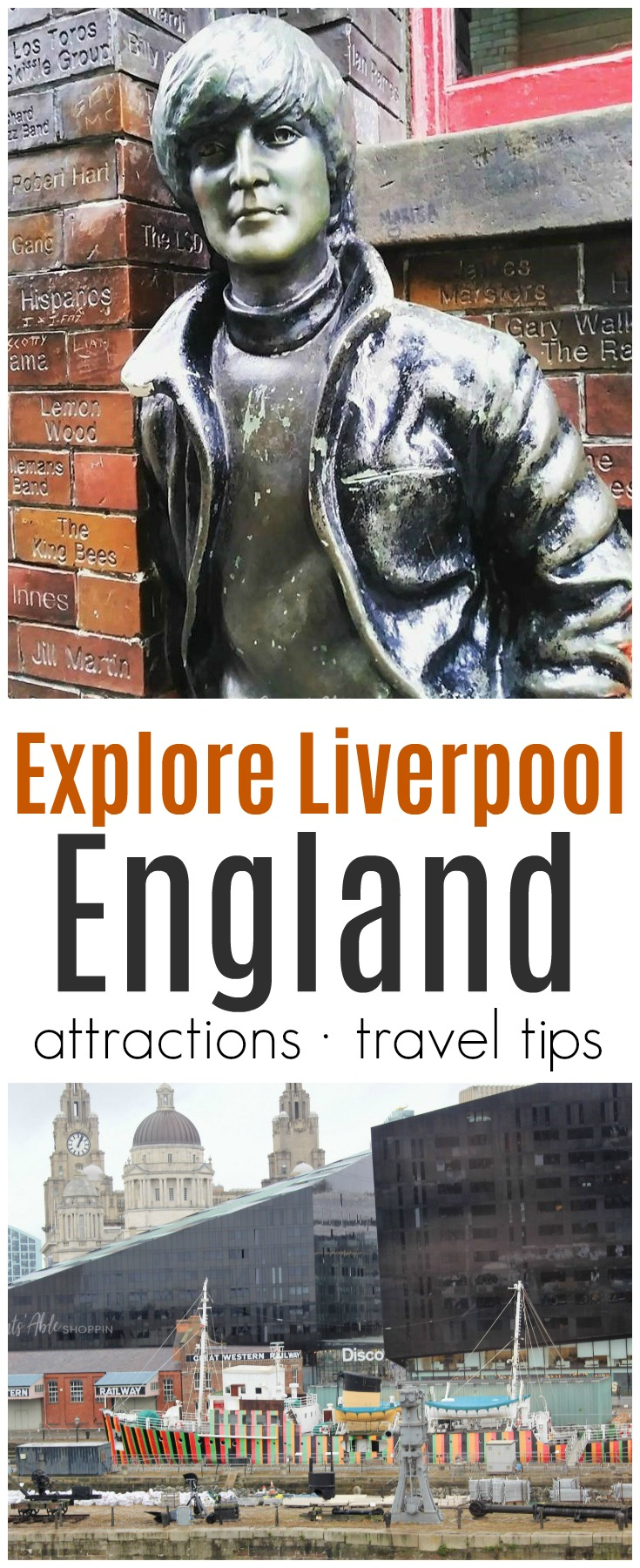 Explore Liverpool, England! Beatles fans flock to this beautiful city for its musical culture and nightlife - there's so much to see and do!  #Liverpool #England #UnitedKingdom  #travel #traveltips #getoutside