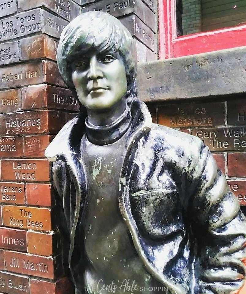 Beatles Statue, Liverpool England