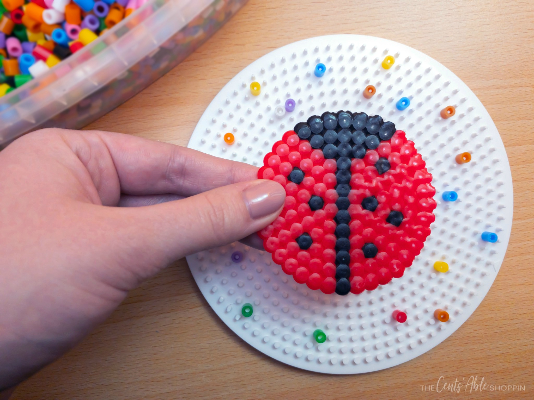 Perler Bead Ladybug Craft – The CentsAble Shoppin