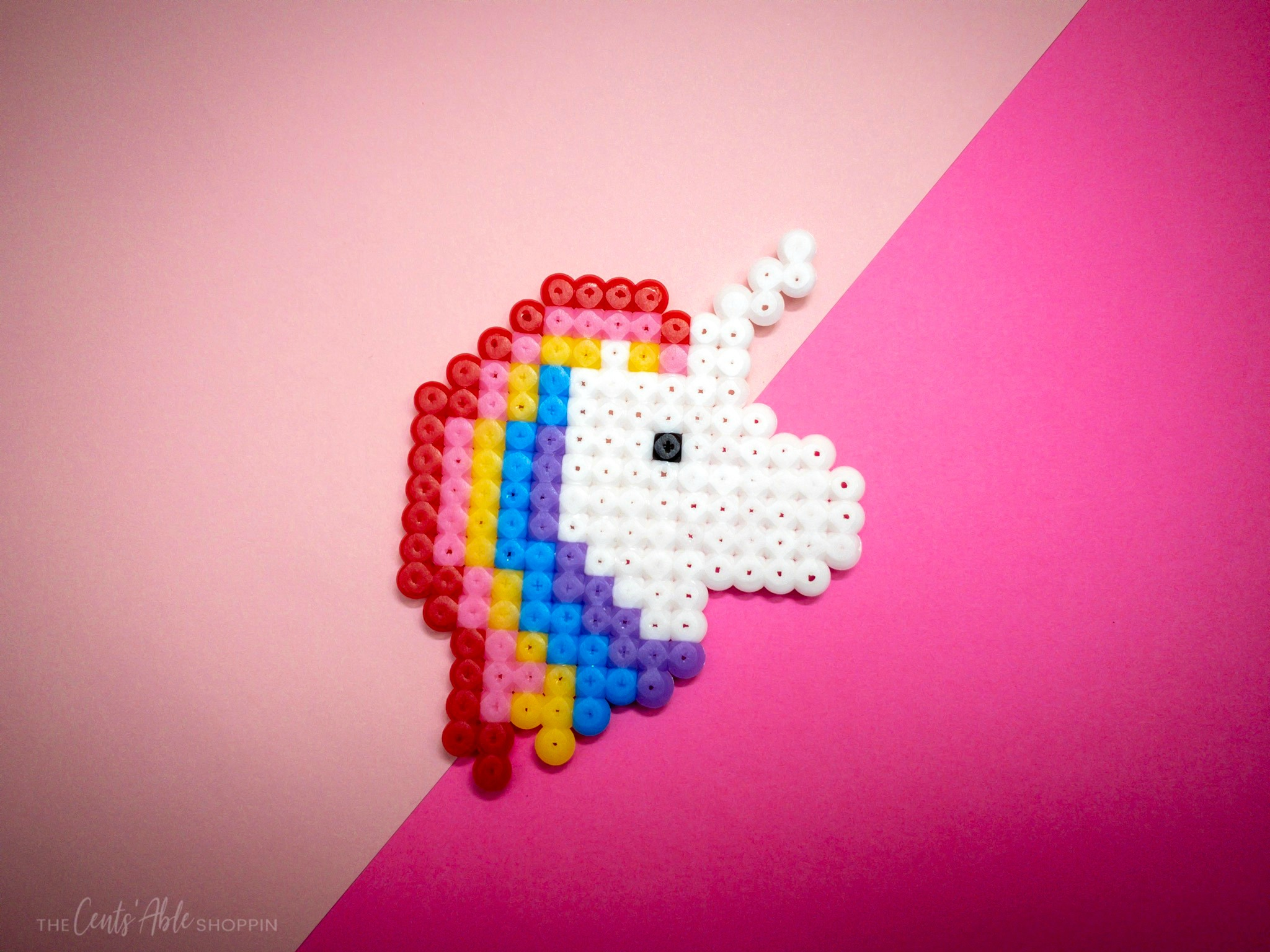 Perler Bead Unicorn Craft – The CentsAble Shoppin