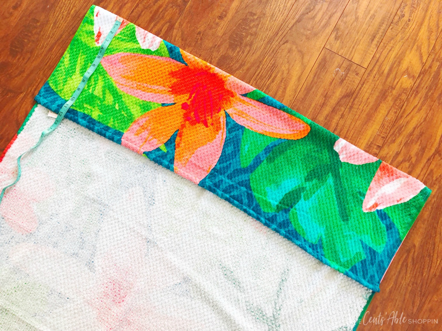 Beach Towel Materials \\ This simple beach towel DIY takes just minutes and will prevent your towel from slipping off your chair when relaxing around the pool or beach this summer!