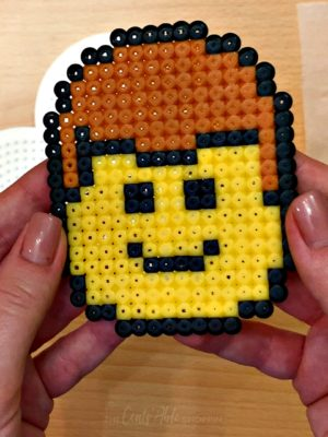Perler Bead LEGO Head Project
