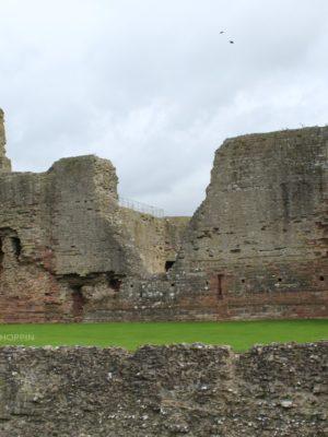 Touring Rhuddlan Castle, Wales