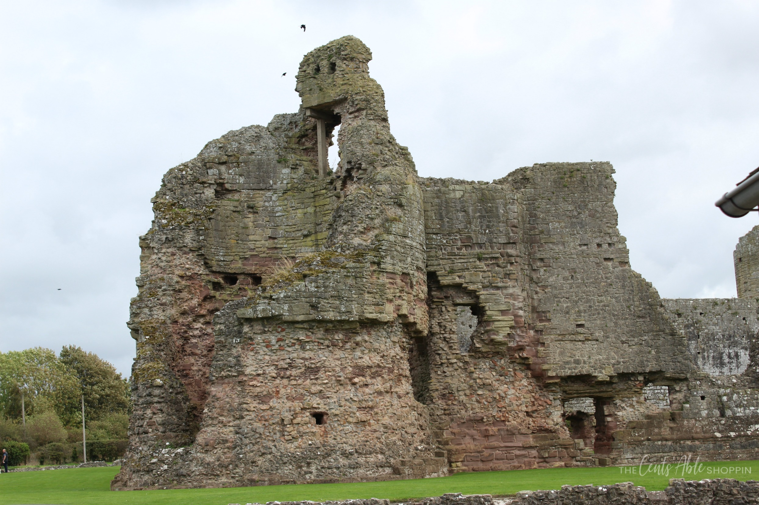 Castle \\  Rhuddlan Castle is a castle located in Rhuddlan, Denbighshire, Wales. It was one of a series of castles erected by King Edward I in 1277.