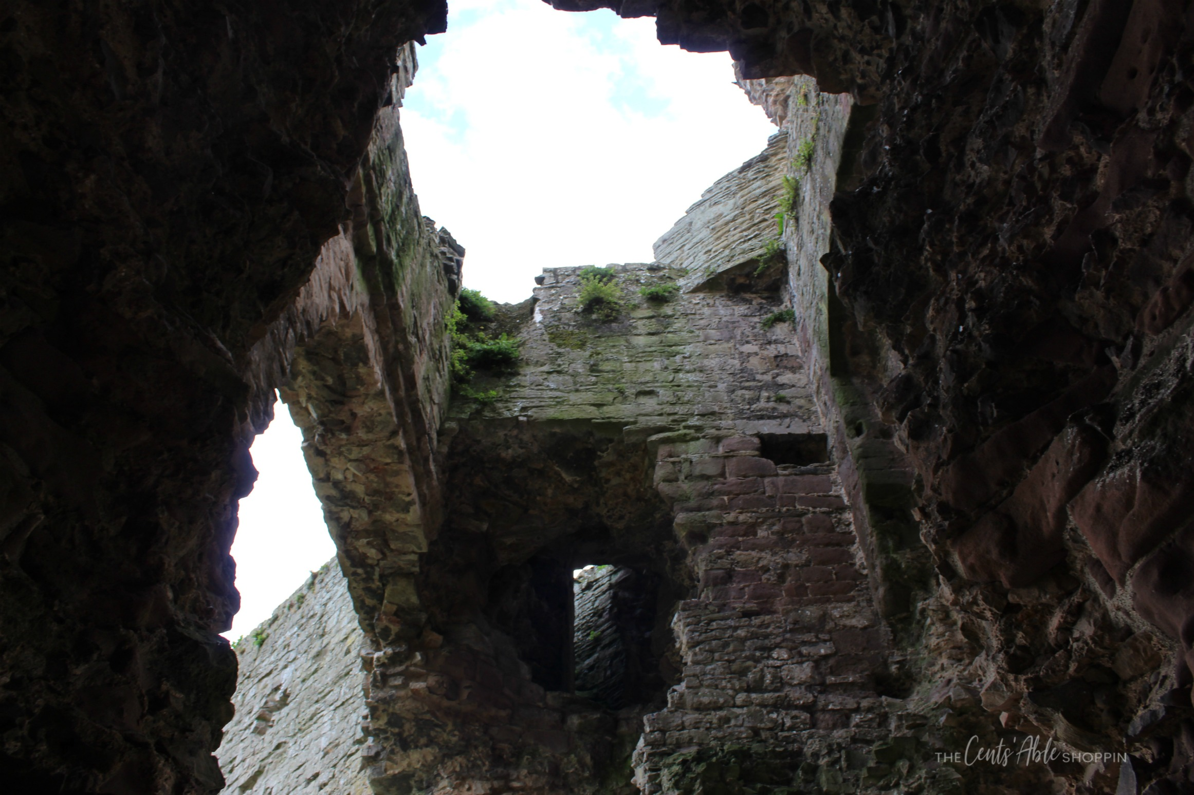 Looking up \\ Rhuddlan Castle is a castle located in Rhuddlan, Denbighshire, Wales. It was one of a series of castles erected by King Edward I in 1277.