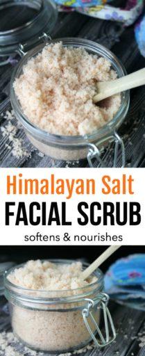 Himalayan Salt Facial Scrub