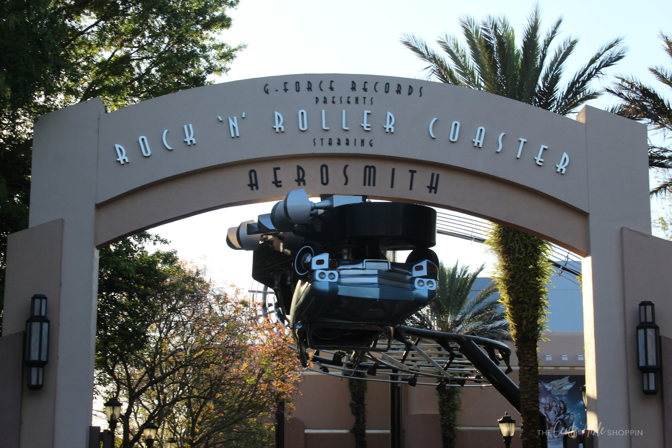 Aerosmith,  Rock'N'Roller Coaster at Disney's Hollywood Studios, Florida.