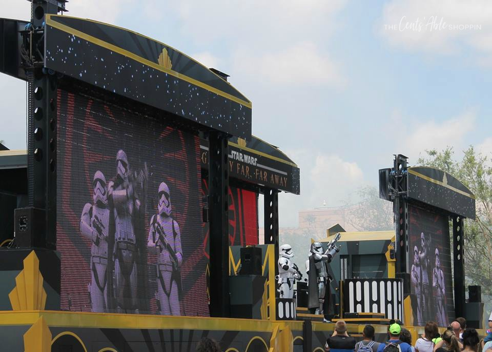 Star Wars on screen at Disney's Hollywood Studios,  Florida