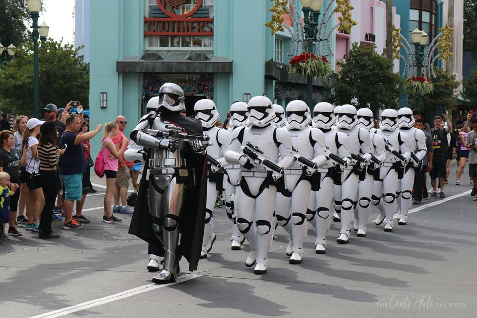 Star Wars parade at Disney's Hollywood Studios,  Florida