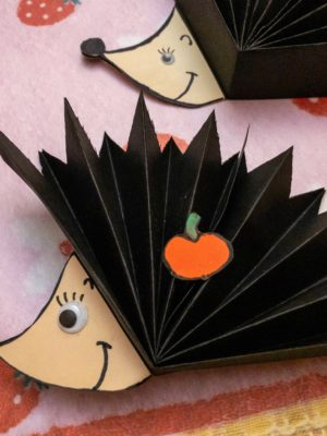 Paper Hedgehog Craft