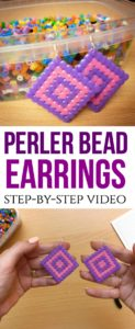 Perler Bead Earrings