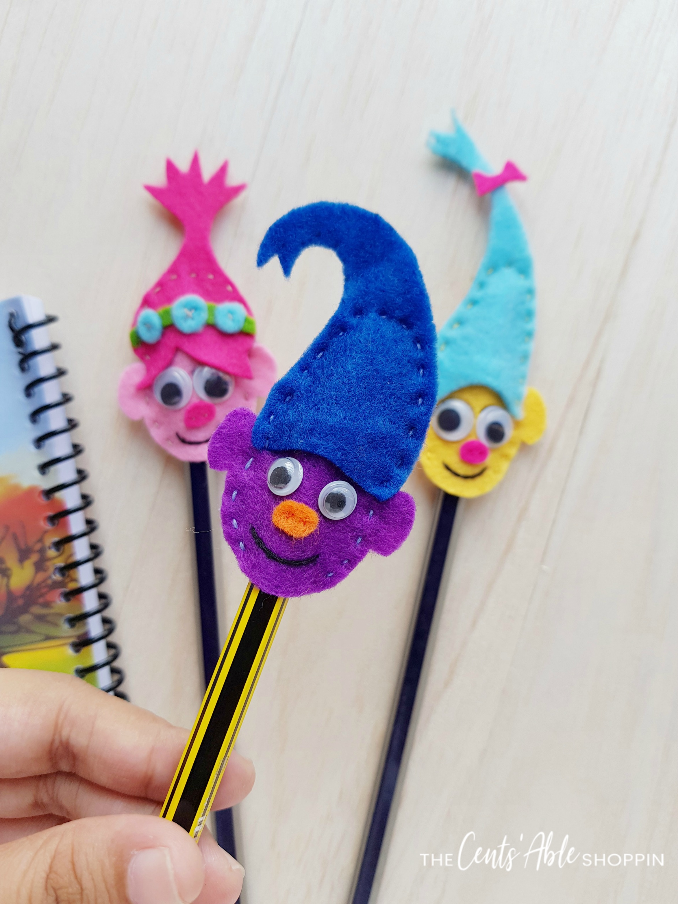 Trolls Pencil Topper