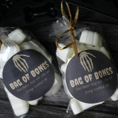Halloween Bag of Bones Soap