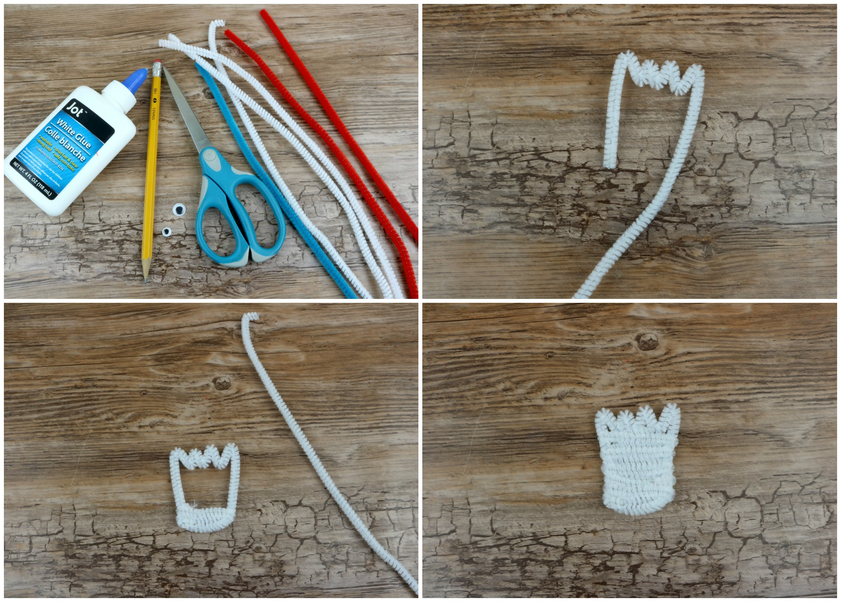 Forky Pencil Topper  Steps